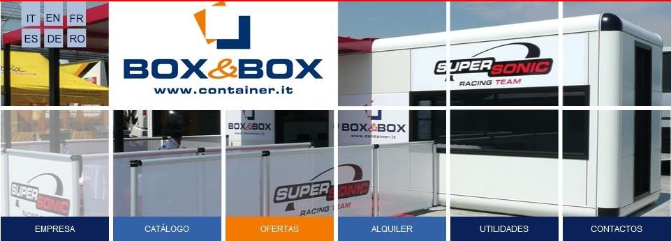 Contenedores segunda mano box box parma - Container maritimo segunda mano ...