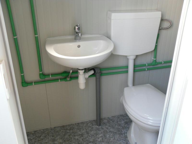 Box prefabbricato b b15 con bagno mt 5 00 a partire da - Prezzo bagno prefabbricato ...