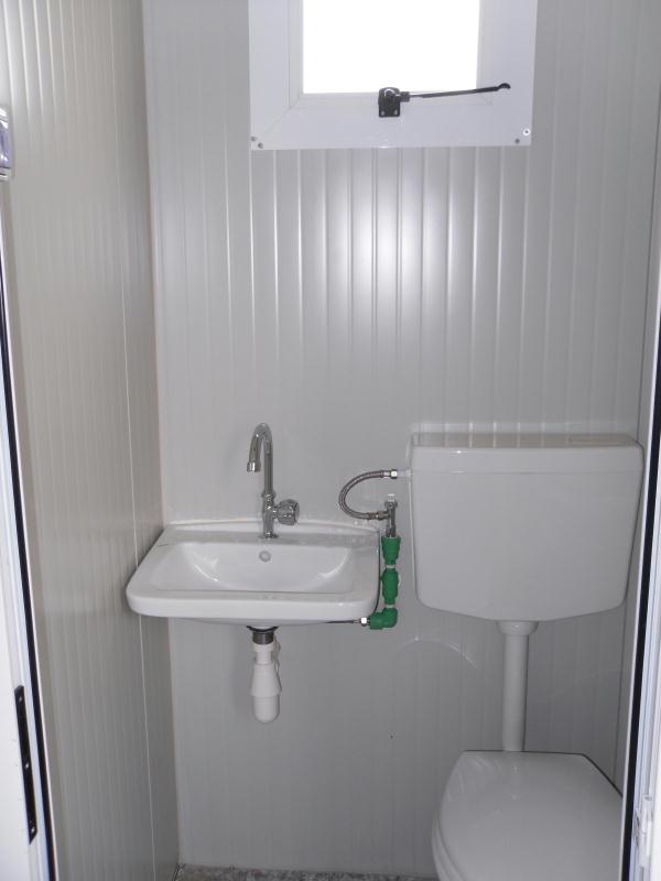 Box prefabbricato b b15 con bagno mt 4 00 a partire da - Prezzo bagno prefabbricato ...