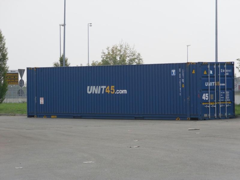 container marittimo 45' ISO HC 9'6'