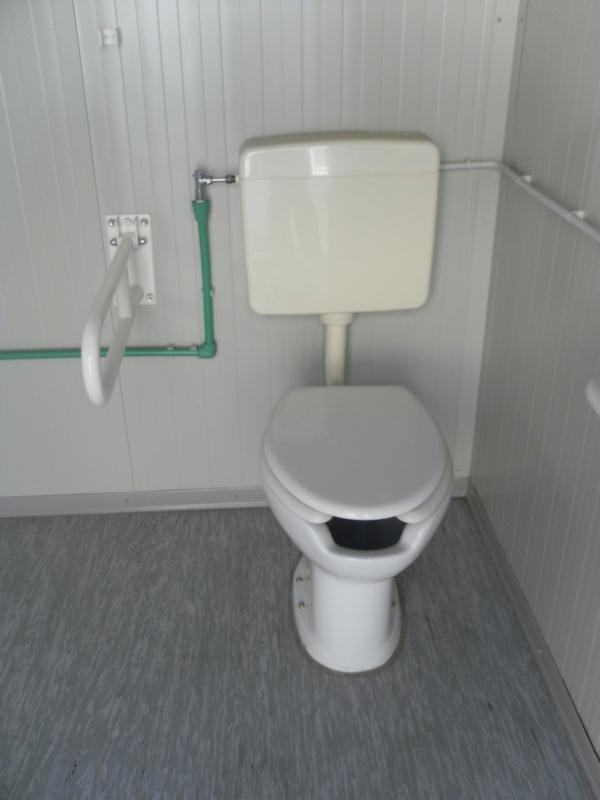 Box prefabbricato wc disabile box prefabbricati box - Prezzo bagno prefabbricato ...