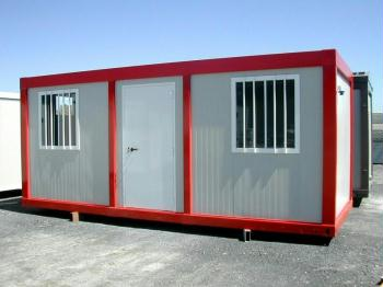 B b 25 arbeitscamps b ro wohncontainer for Mini wohncontainer